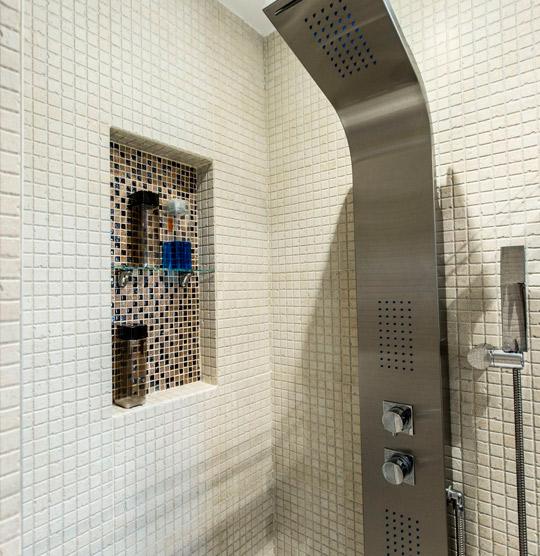 ducha de obra moderna