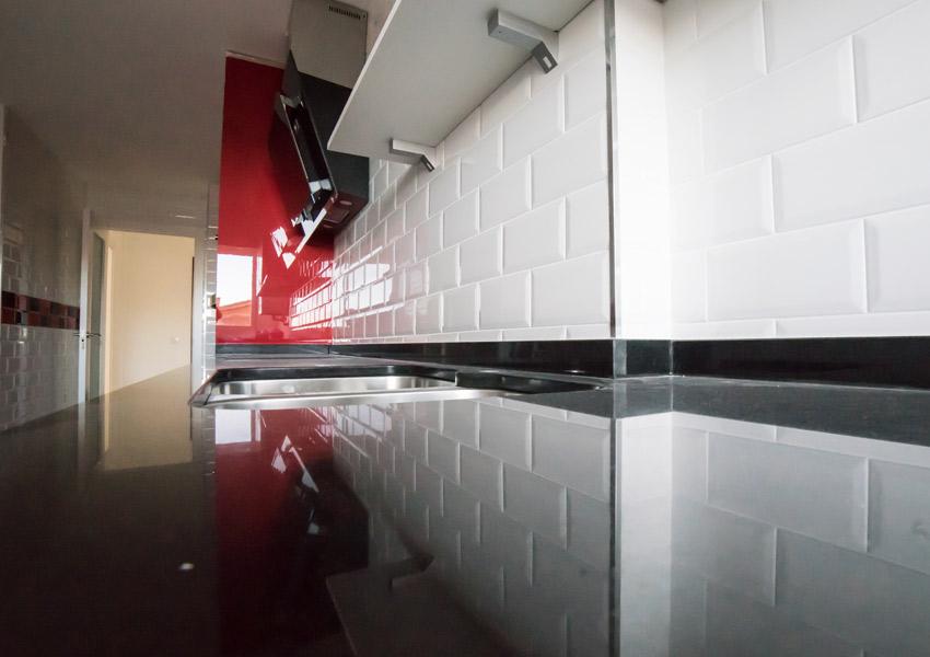 barra de cocina moderna
