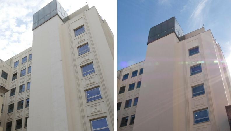 fachada edificio madrid
