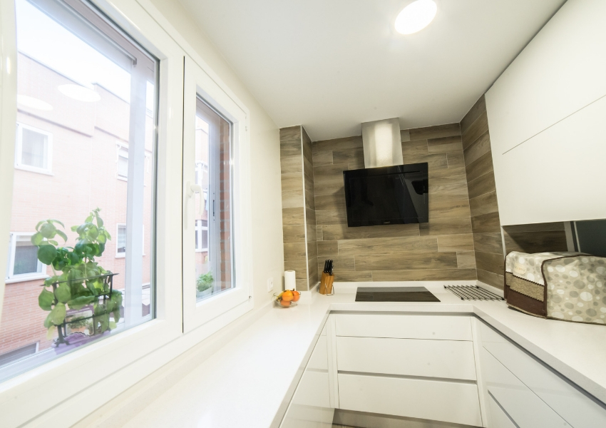 reforma de ventanas cocina en dehesa vieja madrid